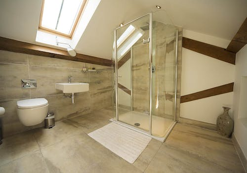 Bookilber Barn Bathroom, Yorkshire Dales