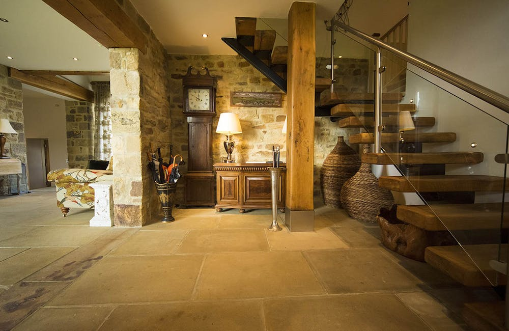 Bookilber Barn Staircase, Yorkshire Dales