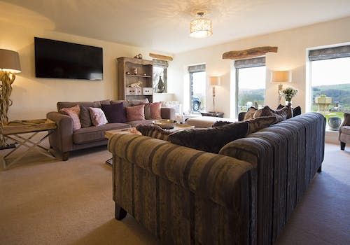 Flatt House Barn Lounge, Yorkshire Dales