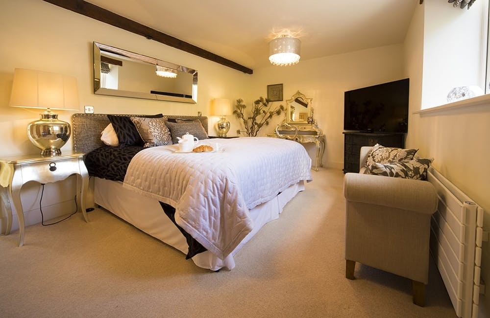 Flatt House Barn Bedroom, Yorkshire Dales