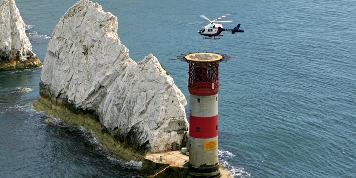 The Needles Lighthouse (Courtesy of Trinity House and Beeston Media)
