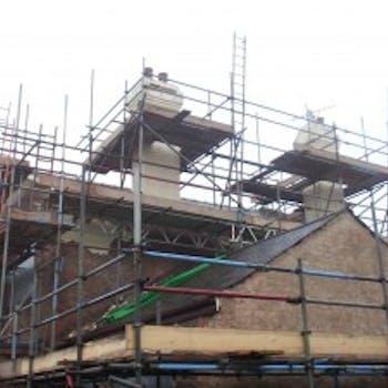 Scaffolding - Dobson Building Contractors, Yorkshire