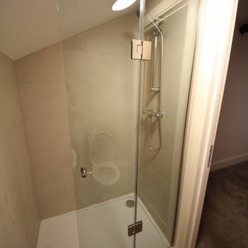 Office fit out - shower room - Dobson Building Contractors, Yorkshire
