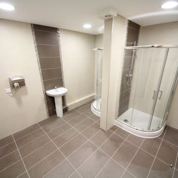 Office bathroom refurbishment  - Dobson Building Contractors, Yorkshire
