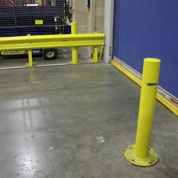 Safety barriers - Dobson Building Contractors, Yorkshire