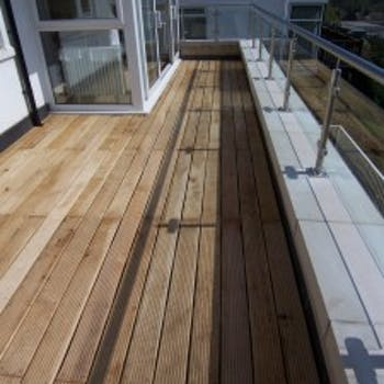 Decking & balcony - Dobson Building Contractors, Yorkshire