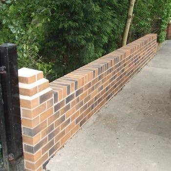 Garden wall - Dobson Building Contractors, Yorkshire