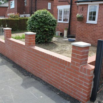 Brick wall - Dobson Building Contractors, Yorkshire