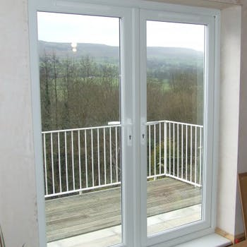 French doors & balcony - Dobson Building Contractors, Yorkshire