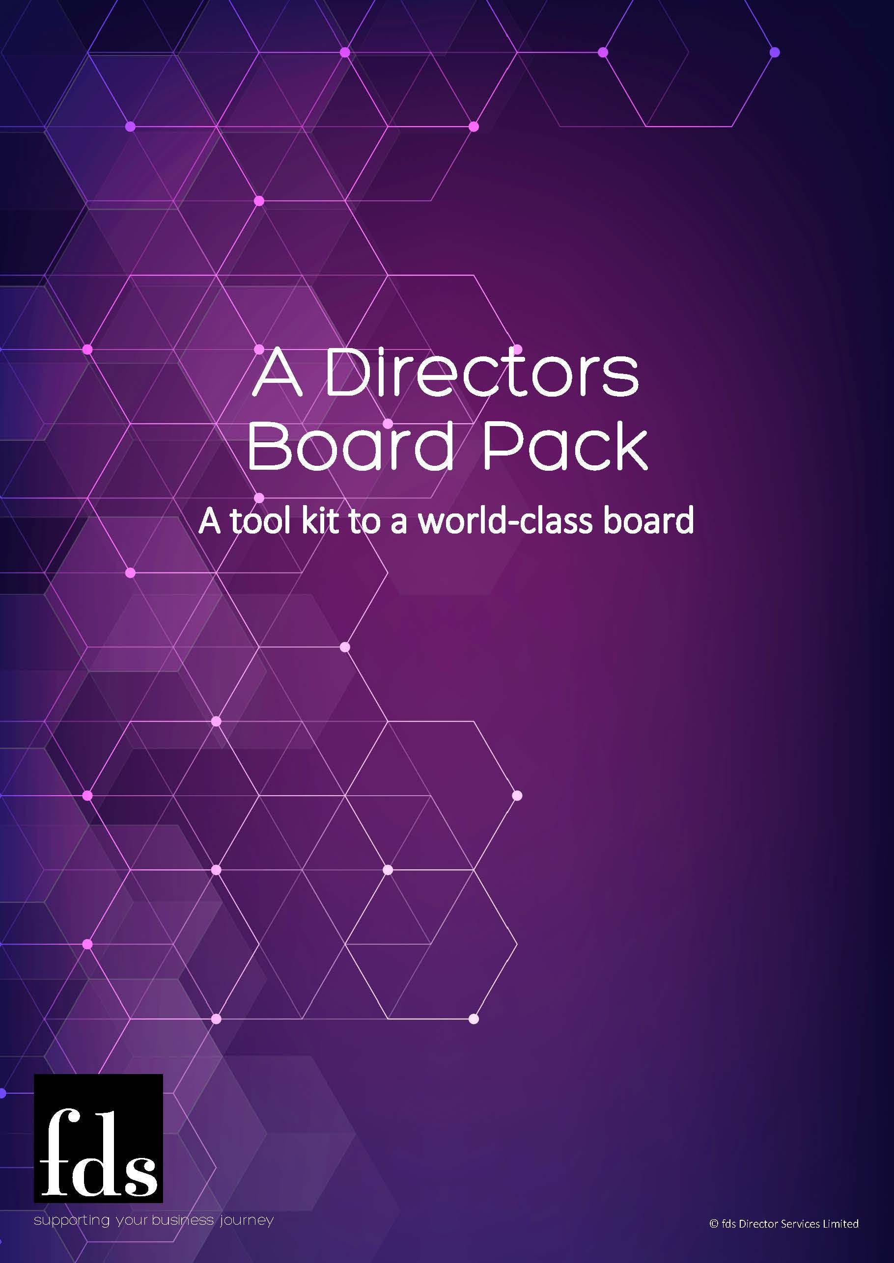 fds - A Directors Board Pack Downloadable Resource