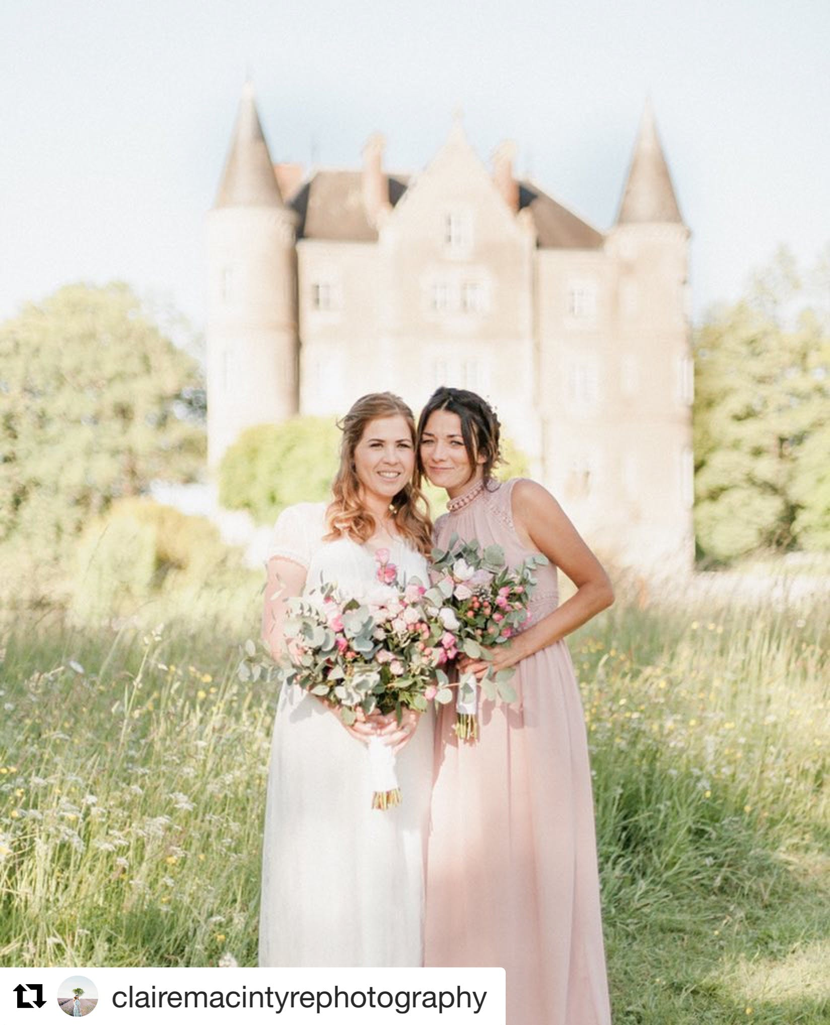 Escape to the Chateau! Stunning Jade got married at the incredible setting of TV series Escape to the Chateau - Chateau de la Motte Husson