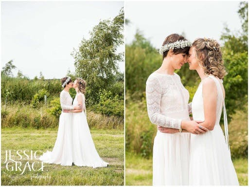 True and eternal love. Gorgeous Ruth and Amy wearing the epitome of bohochic 'Feeling' by Rembo Styling