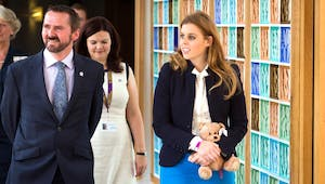 HRH Princess Beatrice of York opens Forget Me Not Trust Hospice