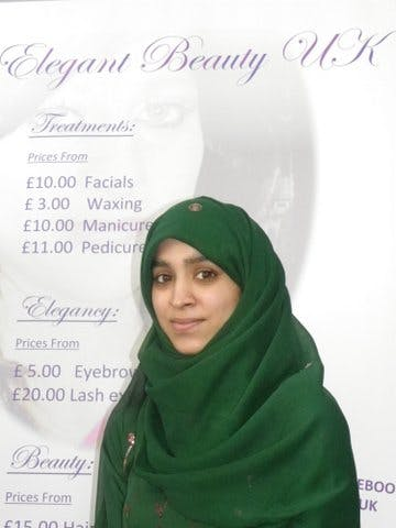 Maryam Allad of Elegant Beauty UK