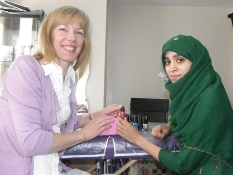 Beverley Lyn (left) and Maryam Allad (right)