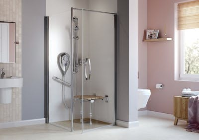 Stylish Accessible Shower Room