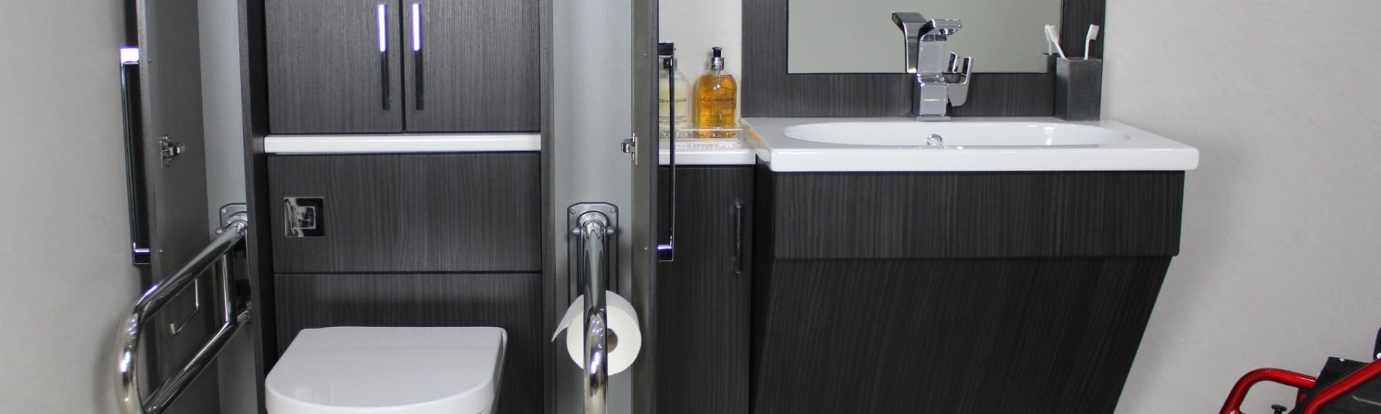 Our range of height conscious, user-friendly & accessible bathroom storage & furniture is tailored to make your daily bathing rituals even safer.