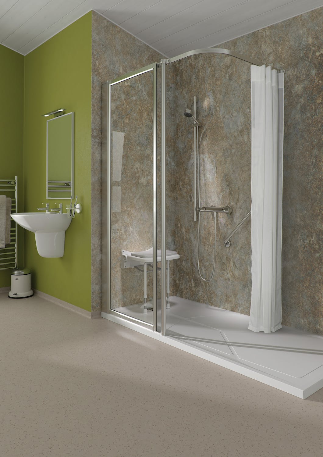 Showcase your safe & stylish bathroom in its finest light.