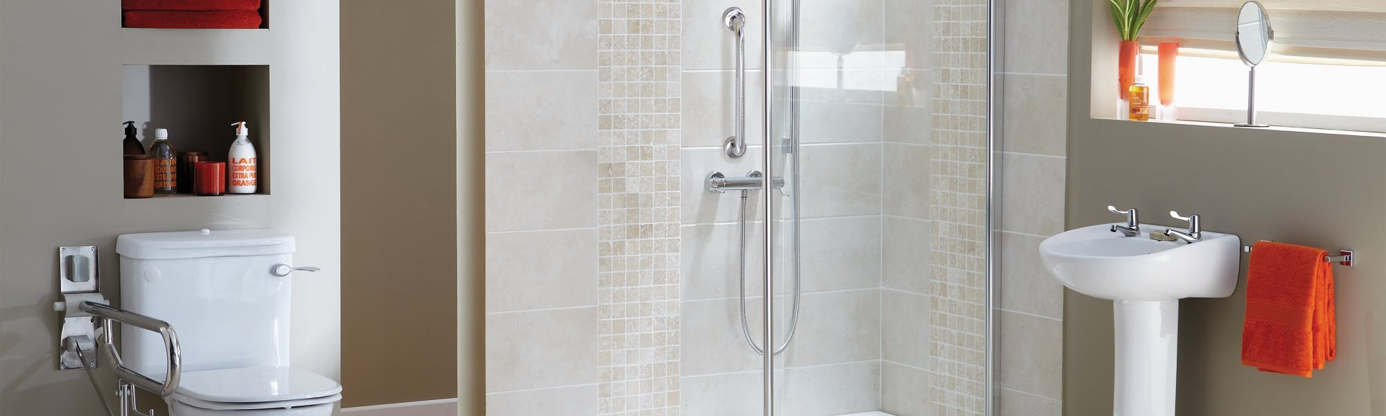 Walk-In Easy Access Showers  | Designed And Installed | More Ability