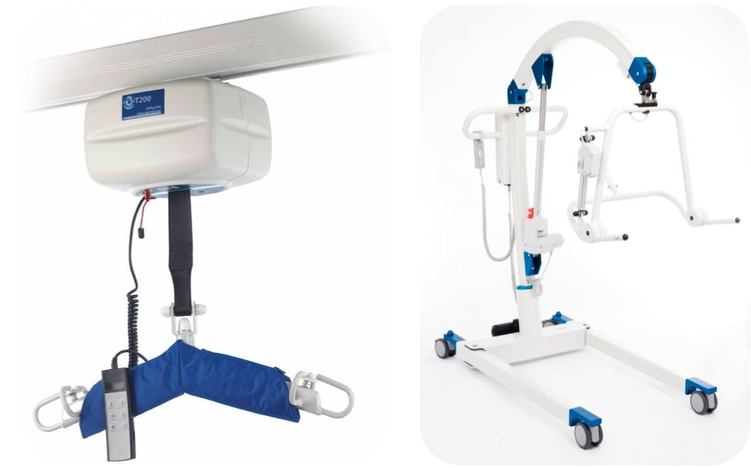 mobile lifting hoist systems have been specifically designed to help ease day to day handling issues that arise within carer assisted disabled bathing environments.