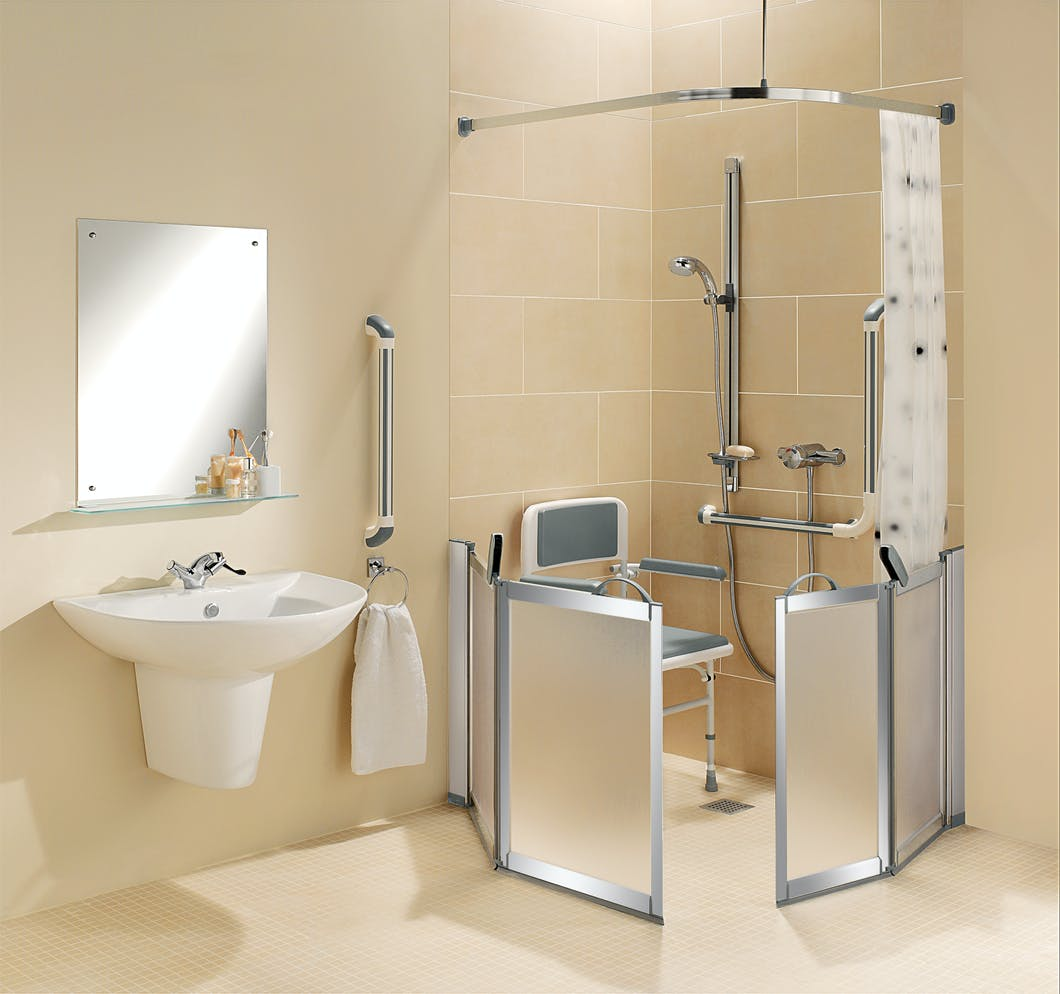 Disabled wet rooms designed installed by more ability - Disabled shower room ...