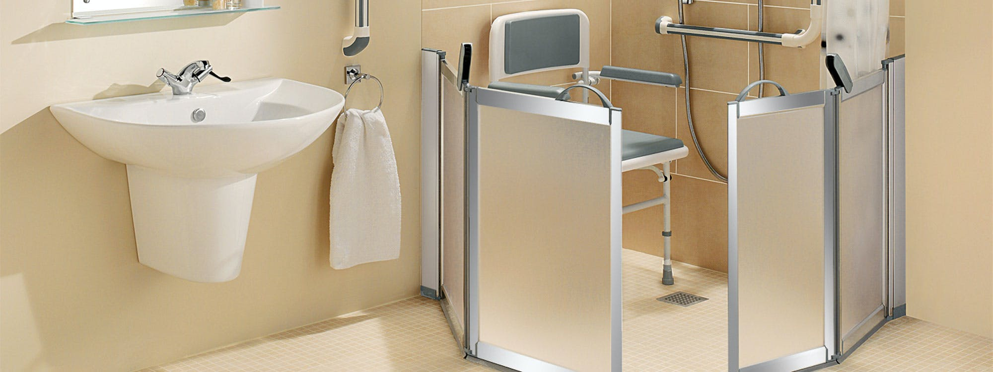 Purposefully designed and built to meet your individual wants, needs and requirements our disabled wet room solutions provide the ultimate showering experience for the less-abled, handicapped and physically impaired.