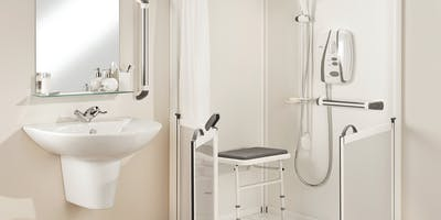 At More Ability we've been specialising in the design & installation of disabled bathrooms for over 50 years. With us, you'll discover a comprehensive range of carer assisted disabled showers showers.