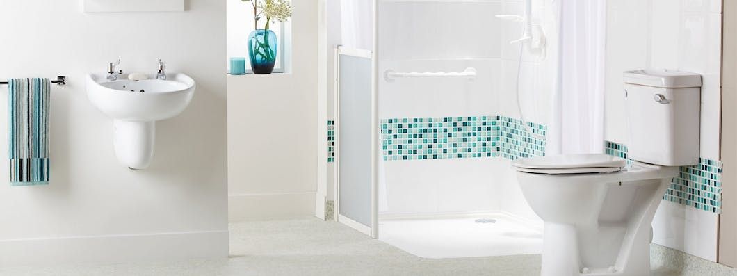 What makes our disabled showers bespoke is depending on your circumstances i.e. whether you require wheel-in access or career assistance, we can ensure your shower area (tray size) is fit for purpose, making your overall layout far safer and easier to navigate.