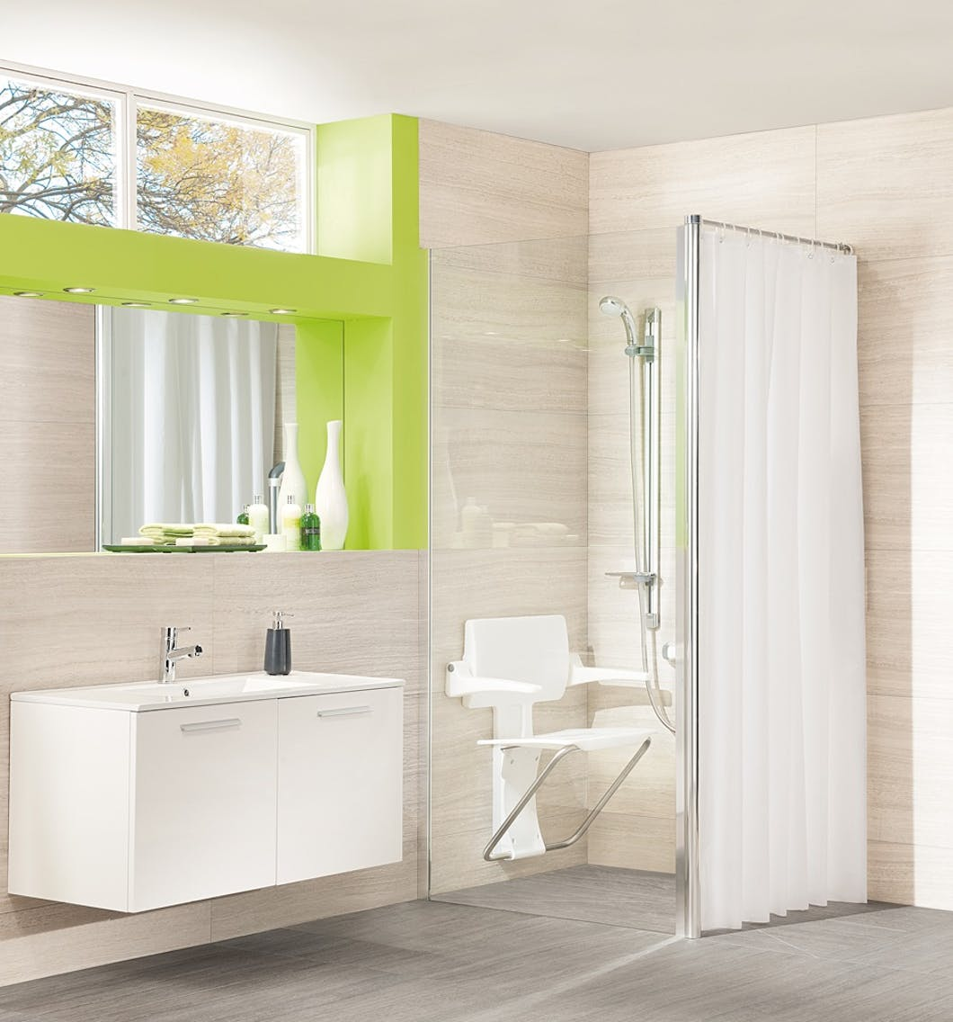 With a mobility friendly wet room, opposed to a traditional level access shower tray or enclosure, the entire room becomes your bathing solution.