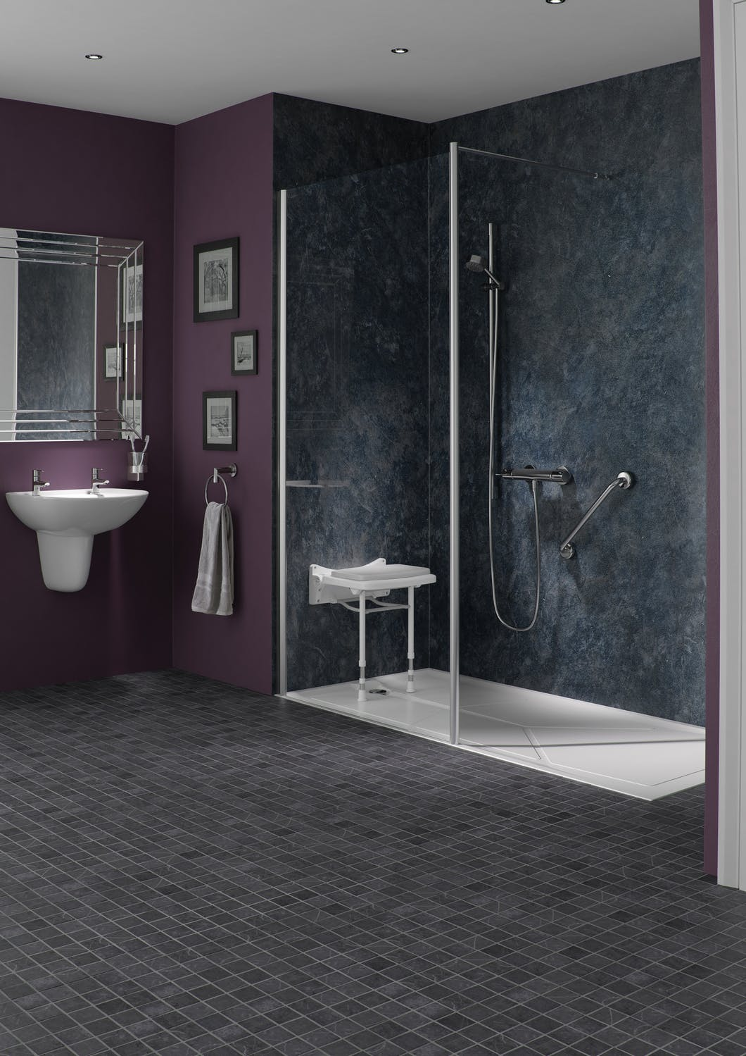 Take control of your bathing experience with a mobility level access shower. Safe & practical they are a perfect showering alternative for the elderly.