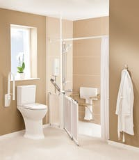 Level Access Showers - The complete mobility shower solution - Help & Advice