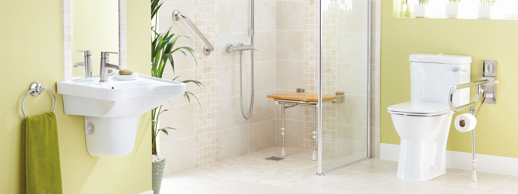 Safe & Practical bathroom solutions - designed, supplied & installed