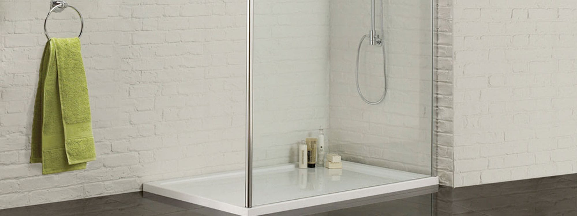 An easily accessible walk-in shower solution provides a safe & stylish alternative to traditional showering thanks to the low or level access slip resistant tray.