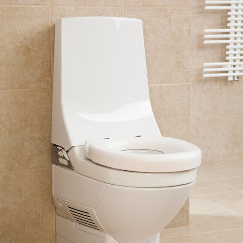 Auto bidet wash dry disabled toilets with remote controlled adjustable air & water temperature completely eliminate the requirement of manual cleansing giving you, or a loved one, back your independence.