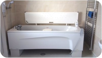 Bespoke & Assisted Bath Solution - designed, supplied & installed
