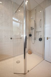 Stylish Wet floor shower solution - designed, supplied & installed