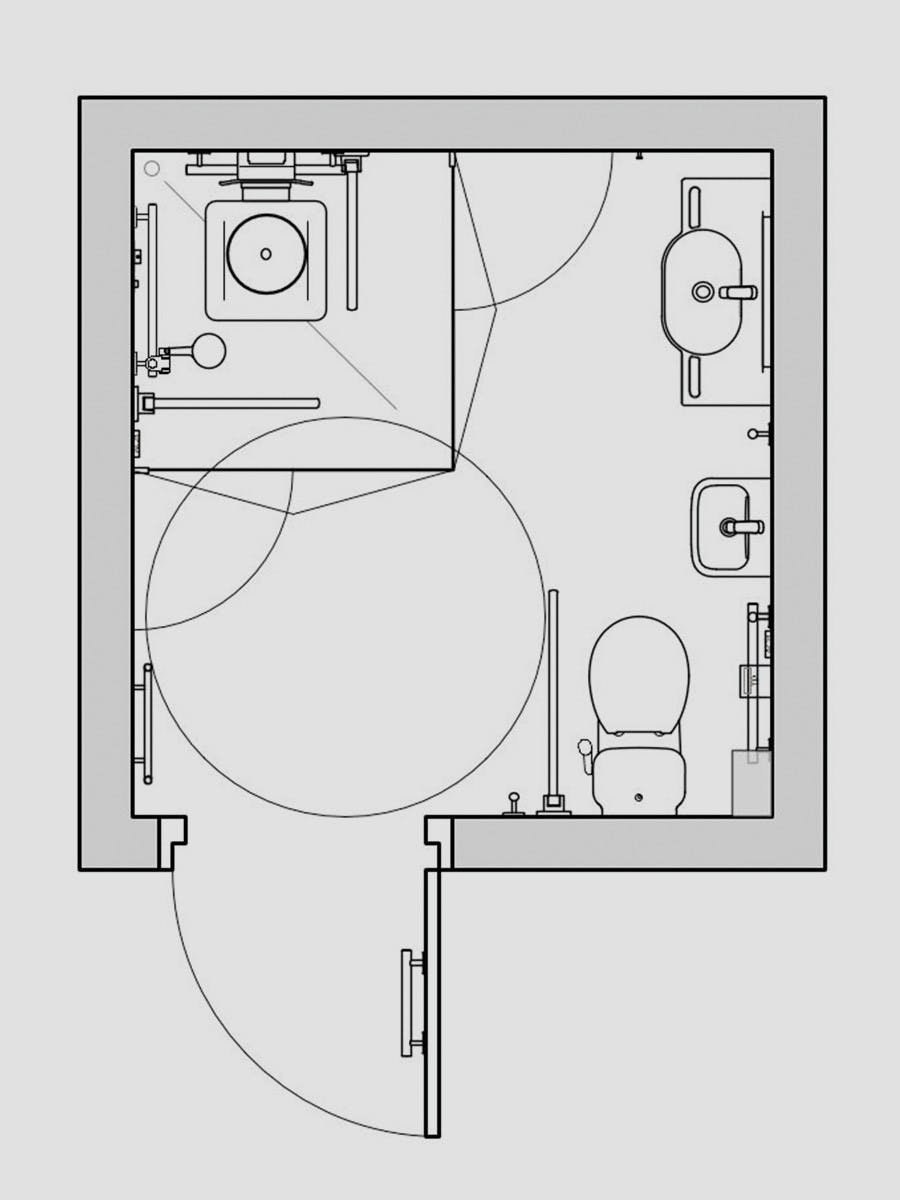 Endoscopy Room Layout Dimension: Disabled Shower Room Layout, Dimensions & Requirements