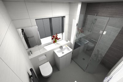 Accessible Wet Floor Shower | More Ability | Design and Installed