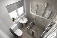 Carer Assisted Level Access Disabled Shower | More Ability