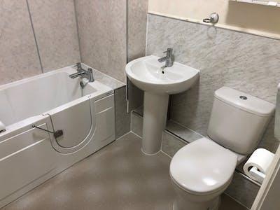 Mobility Bathroom with walk-in bath