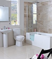 easy access bathroom - designed, supplied & installed