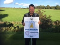 Steve Passmore takes part in 2016 annual golf event to raise money for Children in Need.