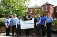 Managing Director Tony Passmore raises £3,000 for the The William Merritt Centre