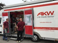 AKW - manufacturer & supplier of easy access bath & shower rooms