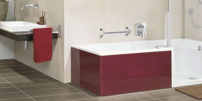 At More Ability our walk-in bath solutions are designed to transform your bathing experience while significantly improving your safety and comfort without the need to make significant alterations to your accessible bathroom design.
