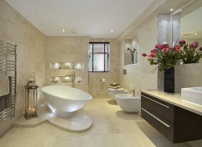 Bathroom renovations and making a new property feel like home.