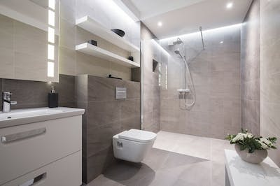 Shower Room Considerations - 9 things to consider before you convert your beloved bathroom into a stylish shower room.