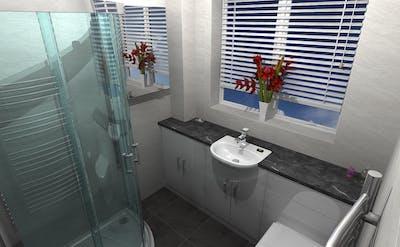 shower enclosure - designed, supplied & installed