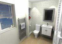 Walk-in shower room  - designed, supplied & installed