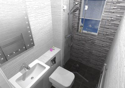 Downstairs WC / Cloakroom - designed, supplied & installed